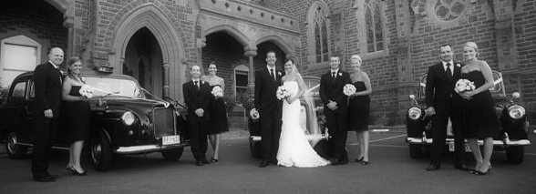 wedding cars Melbourne London taxi wedding services