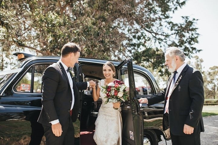 london taxi wedding services